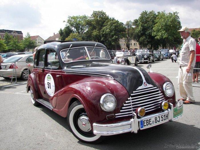 Sachsen-Classic 2009 im BMW 340, Baujahr 1951