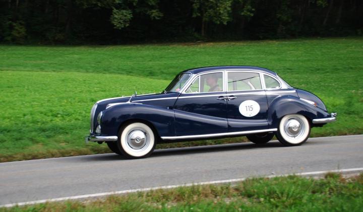 BMW 502, Bj. 1960