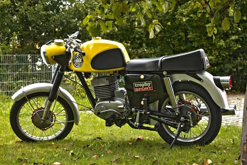 Zeitenmobile 187 Mz Ets 250 Sport Bj 1972