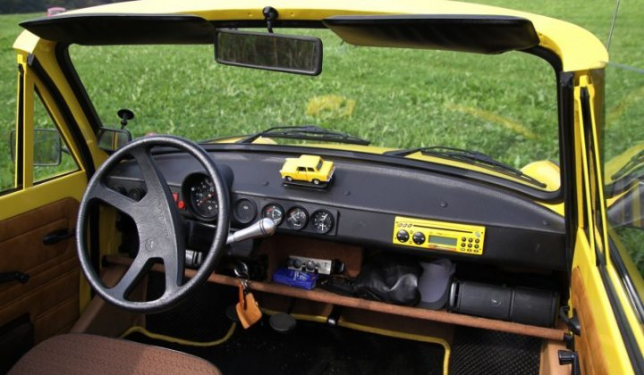 Trabant 601L Cabrio